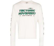 """Langarmshirt mit """"Tectonic Movement""""-Print"""