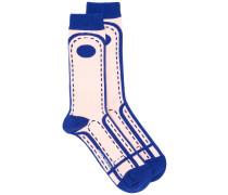 'Crossing Lane' Socken