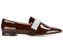 Loafer mit Kristallverzierung - women