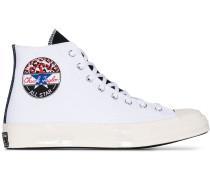 White Logo Play Chuck 70 high top sneakers