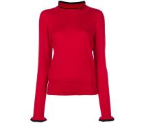 Pullover mit Kontraststaum