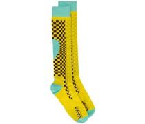 Socken in Colour-Block-Optik