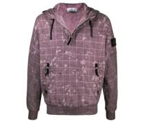 Sweatshirt mit Acid-Wash-Effekt