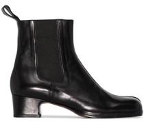 Chelsea-Boots mit eckiger Kappe 40mm