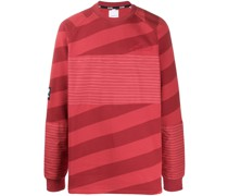 Oversized-Pullover mit Blockstreifen
