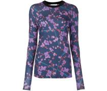 Sweatshirt mit floralem Print