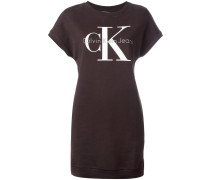 - T-Shirt-Kleid mit Logo-Print - women