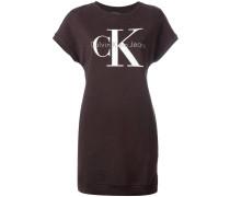 T-Shirt-Kleid mit Logo-Print - women