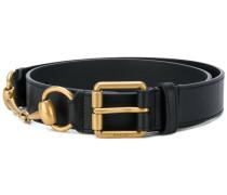 horsebit detail belt