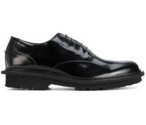 Derby-Schuhe mit Profilsohle