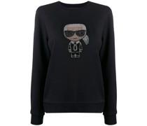 'K/Ikonik' Sweatshirt mit Strass