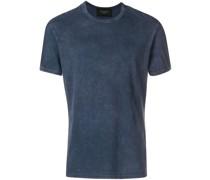 T-Shirt mit Print am Rücken