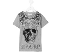 - T-Shirt mit Print - kids - Baumwolle - 8 J.