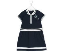 Poloshirtkleid mit Streifen