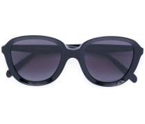 chunky bug-eye sunglasses - unisex - Acetat - 51