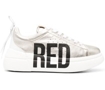 RED(V) Sneakers mit seitlichem Logo