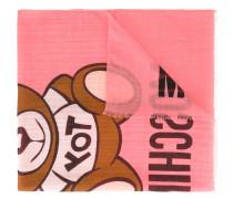 toy bear print scarf