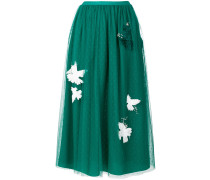 embellished layer skirt