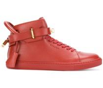 High-Top-Sneakers mit Riemen
