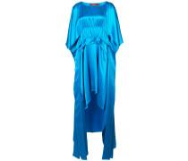 Kleid mit abgerundetem Saum