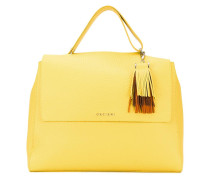 fringed detail tote