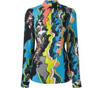 'Jagged Baroque' zipped shirt