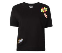 T-Shirt mit Applikationen - women - Baumwolle