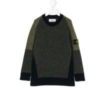 Pullover mit Einsatz