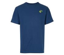 T-Shirt mit aufgestickter Birne