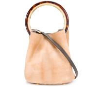 Pannier textured bucket bag