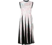 'Palm Leaf' Kleid mit Falten