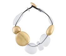 Halskette mit großen Schmucksteinen
