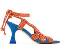 Sandalen mit Seildetails, 90mm