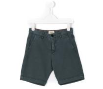 Chino-Shorts mit Logo-Patch
