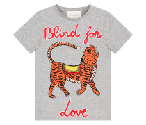 Children's T-shirt with tiger print