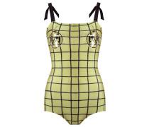 grid swimsuit - women - Polyamid/Elastan - P