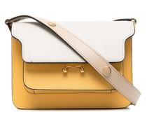 Handtasche mit Akkordeonfalten