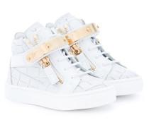 - 'Nicki' High-Top-Sneakers - kids - Leder/rubber