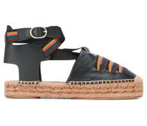 'March' Espadrilles - women - Raffiabast/Leder