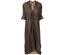 Kleid mit Raffung