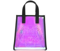Handtasche mit Logo - women - polyurethane