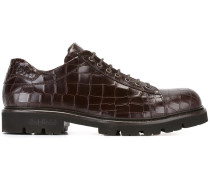 - Derby-Schuhe mit Krokodilleder-Effekt - men