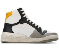High-Top-Sneaker mit Einsatz