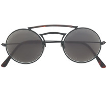 round double nose bridge sunglasses