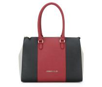 Mittelgroße Handtasche in Colour-Block-Optik