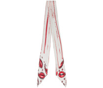 Lips Paisley classic super skinny scarf
