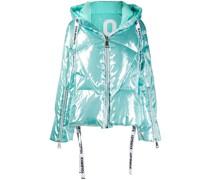 Gesteppter Mantel im Oversized-Look