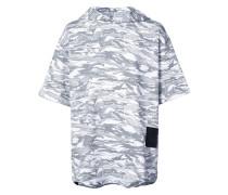 x XO Kapuzenpullover mit Camouflage-Print