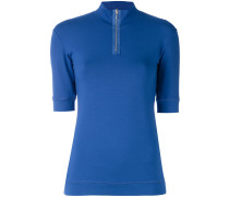 - 'Visual' Poloshirt - women - Elastan/Viskose - L
