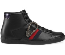 "'Ace' High-Top-Sneakers mit ""Dionysus""-Schnalle"